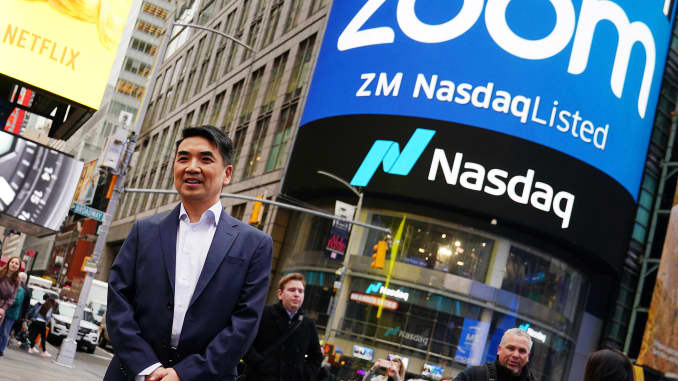 RT: Eric Yuan, CEO of Zoom IPO 190418