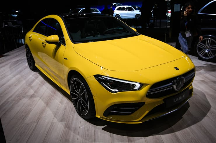 CNBC: 2019 NYIAS: Mercedes Benz AMG CLA 35 1