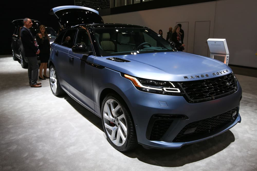 2020 Range Rover Velar Gets SVAutobiography Dynamic Trim >> Land Rover S New Lineup Has Some Of The World S Fastest Suvs