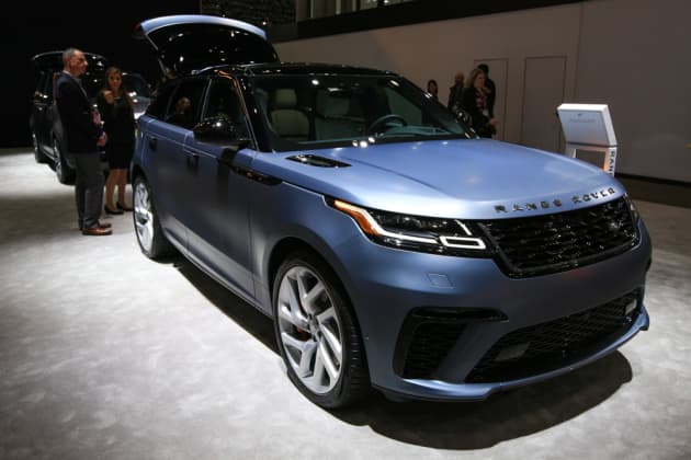 New Range Rover >> Land Rover S New Lineup Has Some Of The World S Fastest Suvs
