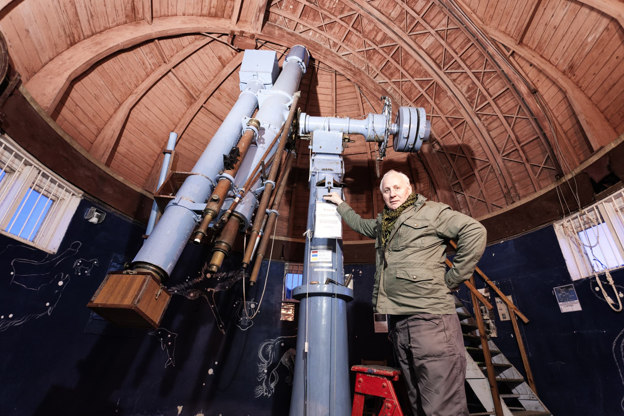 GP: Astronomer within an observatory