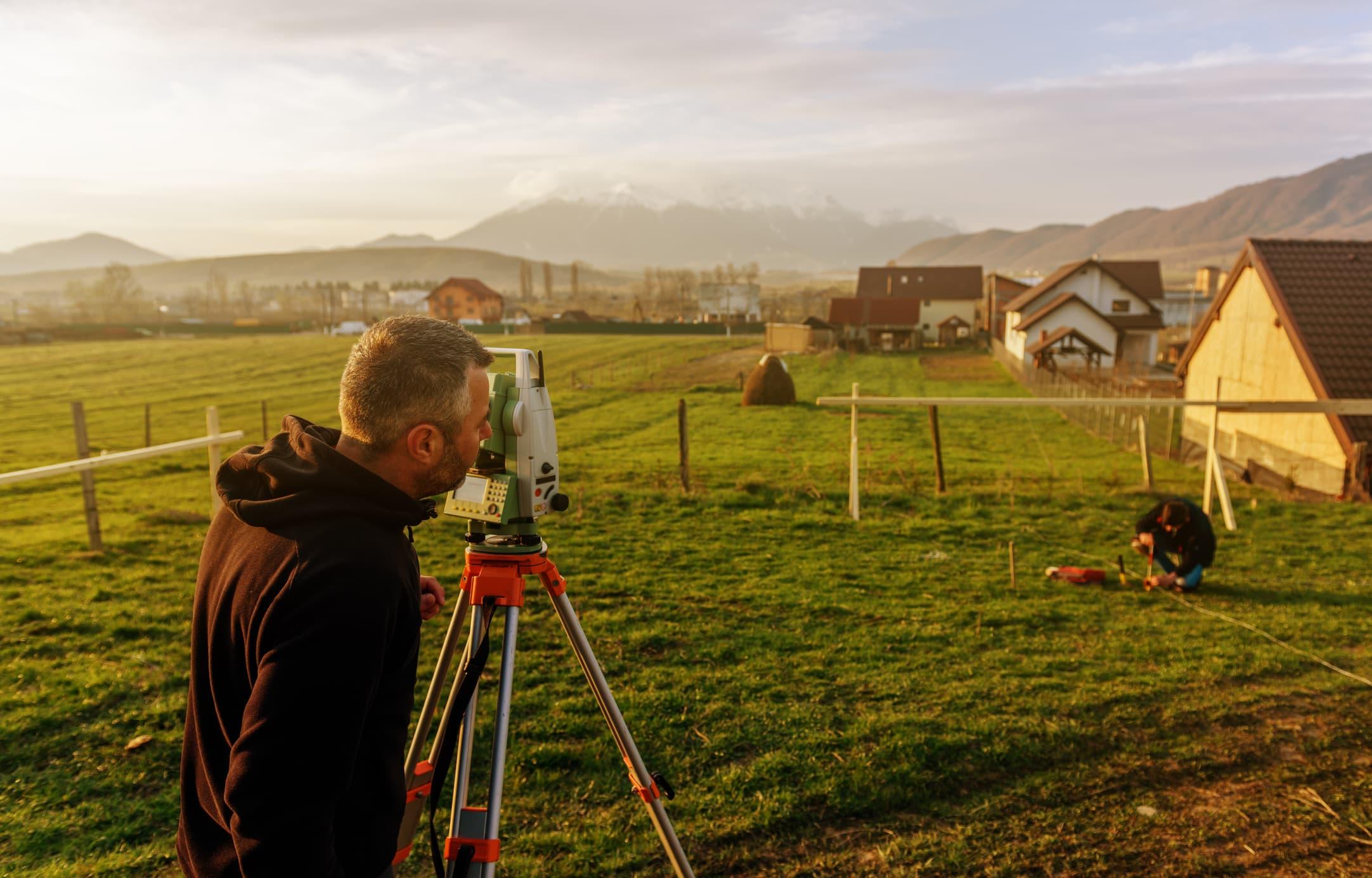 GP: land surveying
