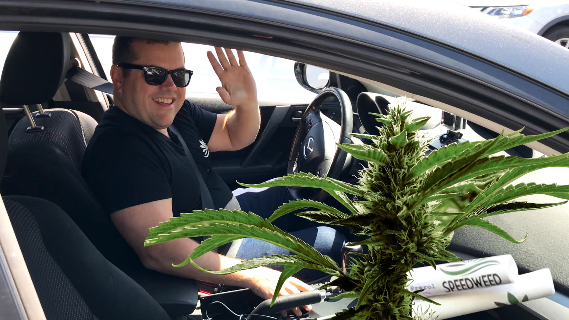 Here's what it's like to deliver weed in LA