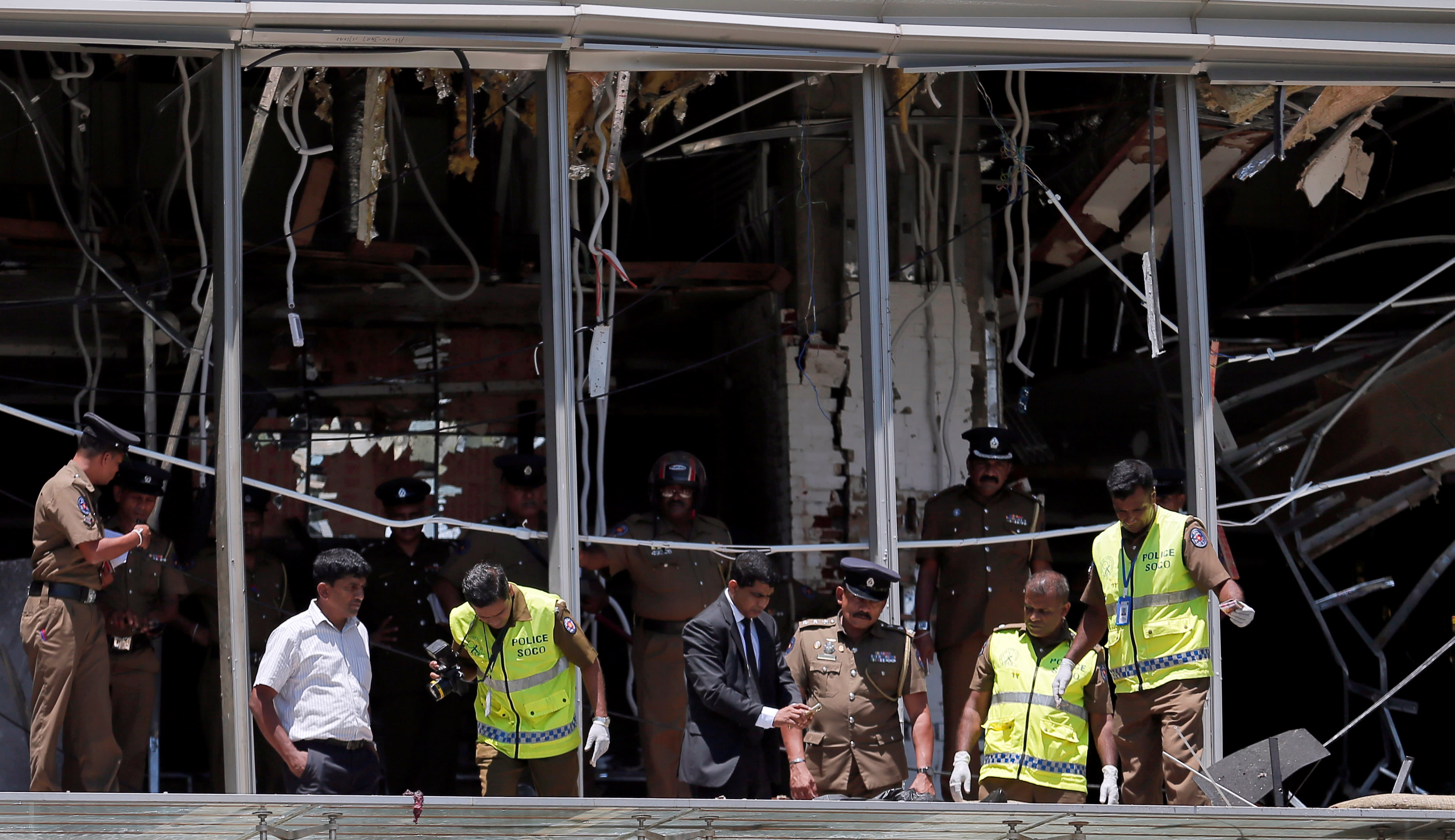Bombs kill at least 207 in Easter attacks on churches, hotels in Sri Lanka