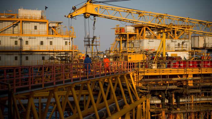 GP: Iran Salman Oil Field 190422