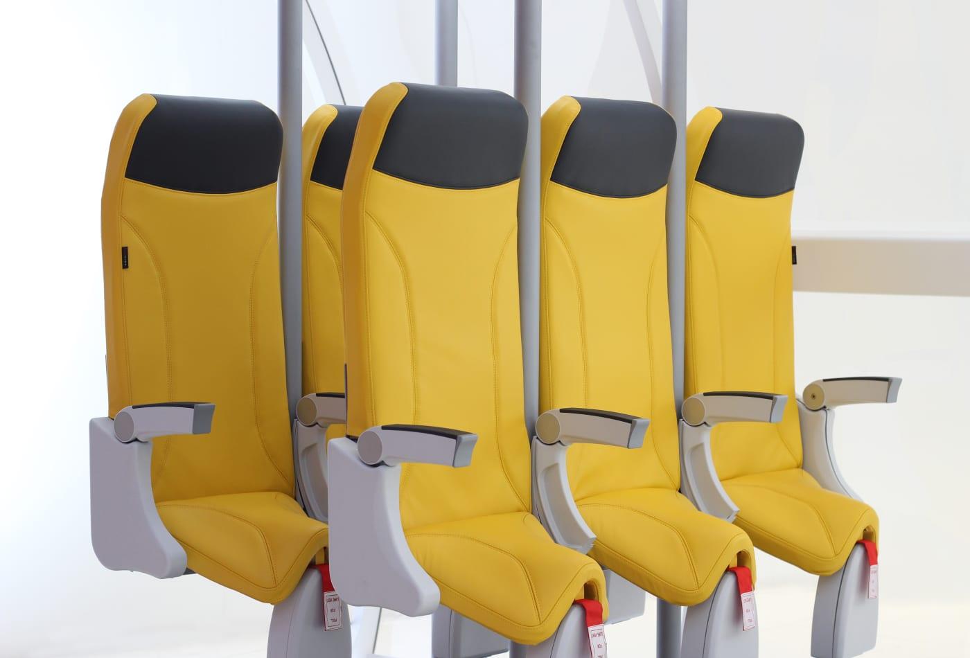 Avioninteriors designed 'standing seats' for airplanes