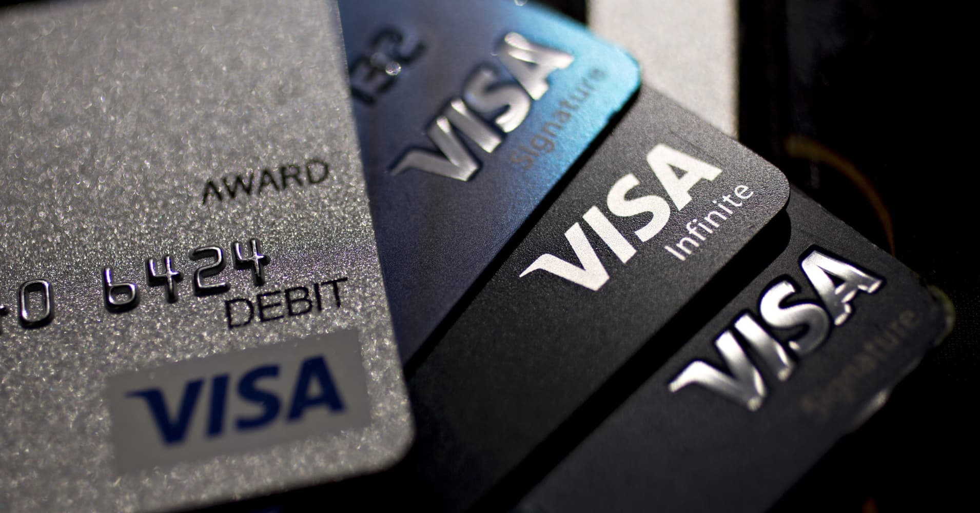 Visa jumps to all-time high after hours, payment volume up 9%