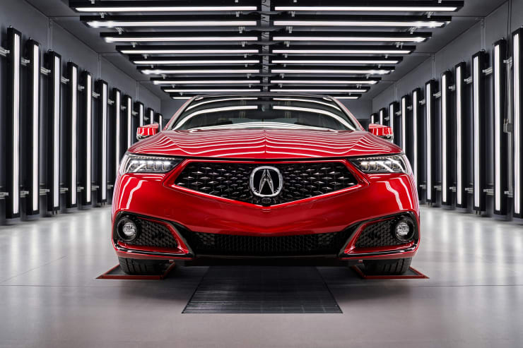 H/O: 2020 Acura TLX PMC Edition
