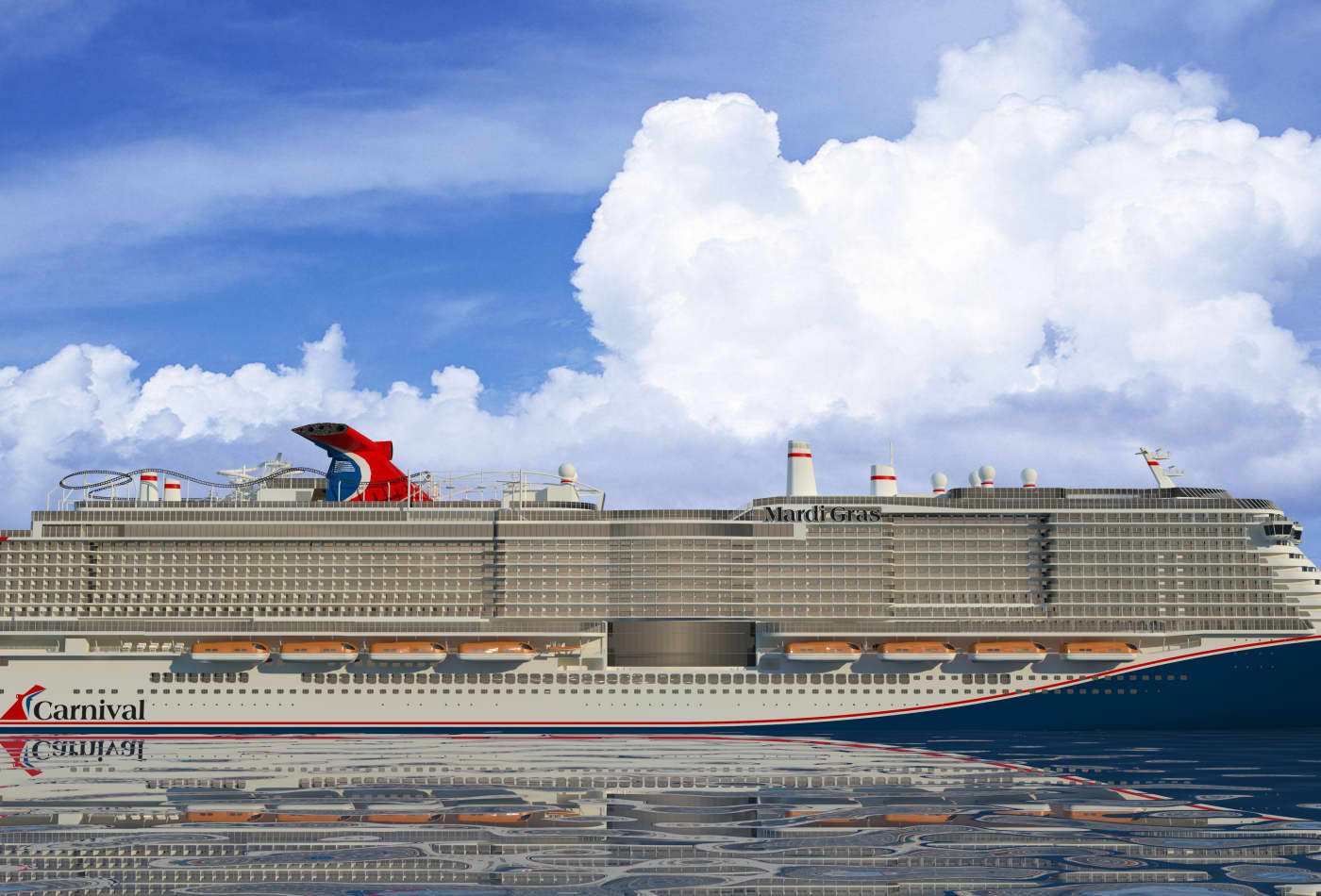 Photos: Carnival cruise ship will have first onboard ...