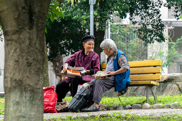 China's aging population could be a 'big shock' for the global supply chain