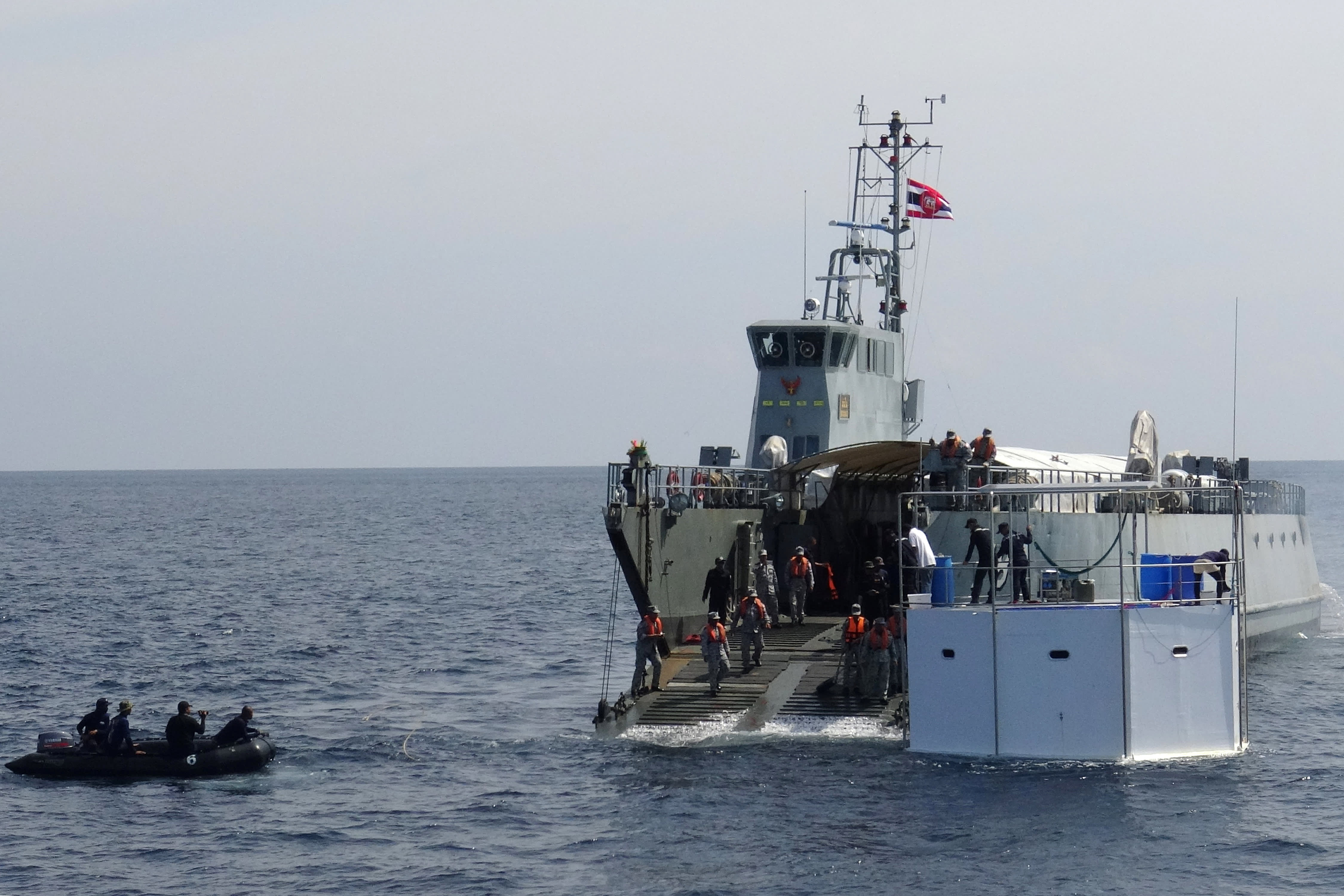 Thailand tows bitcoin trader's floating home; owners may face death sentence