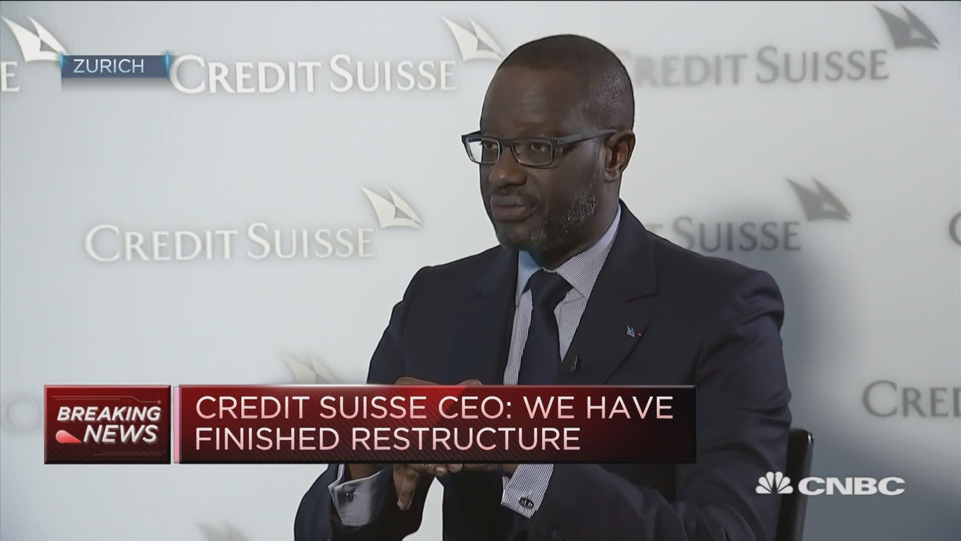 Credit Suisse posts profit beat following three-year restructuring plan