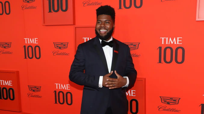 Time 100: Singer Khalid explains why persistence is so important