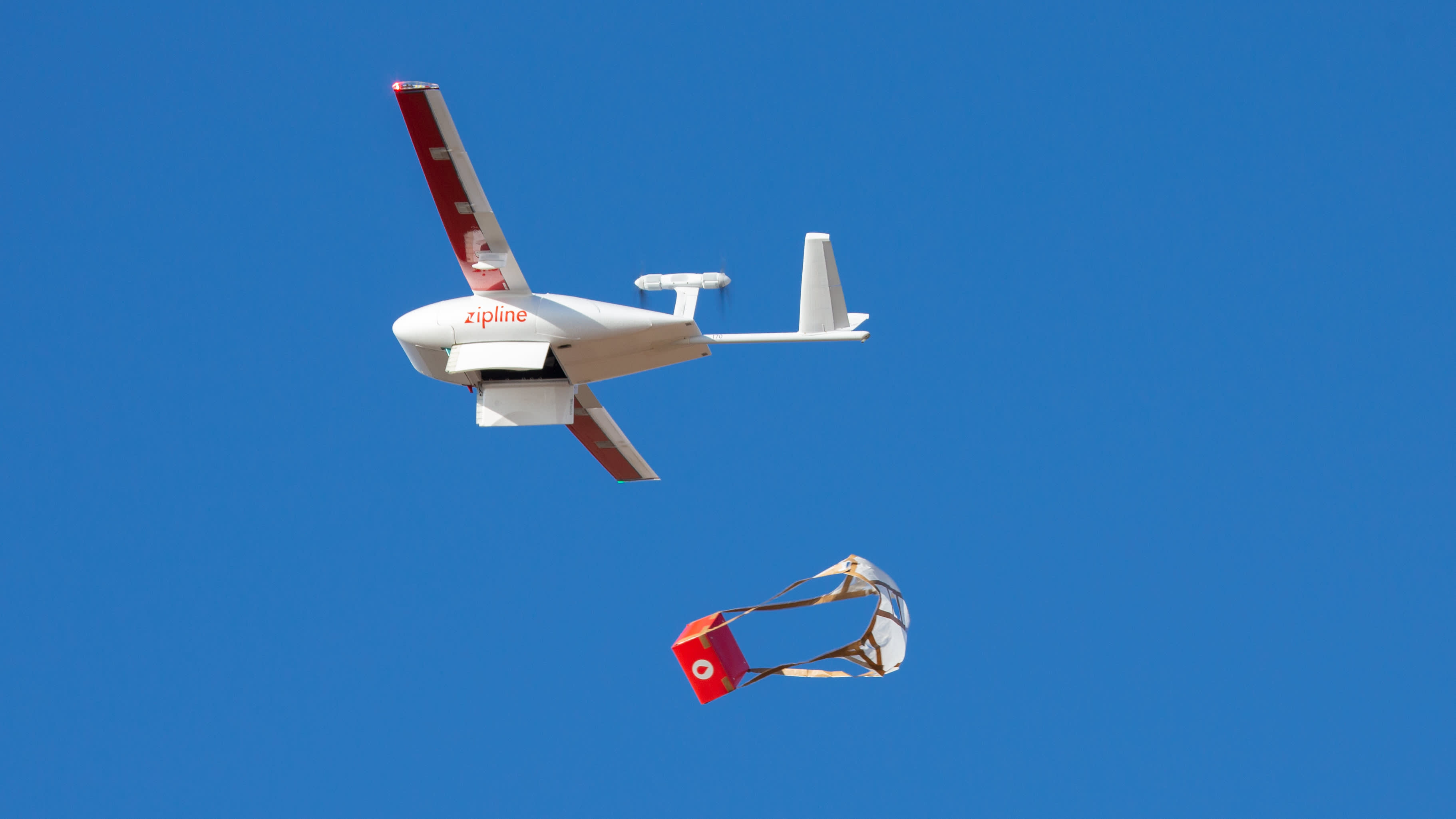 Zipline, which delivers lifesaving medical supplies by drone, now valued at $1.2 billion
