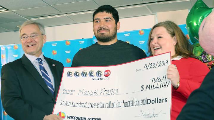 Wisconsin Powerball Winner Franco Had Under 1 000 In His Bank Account