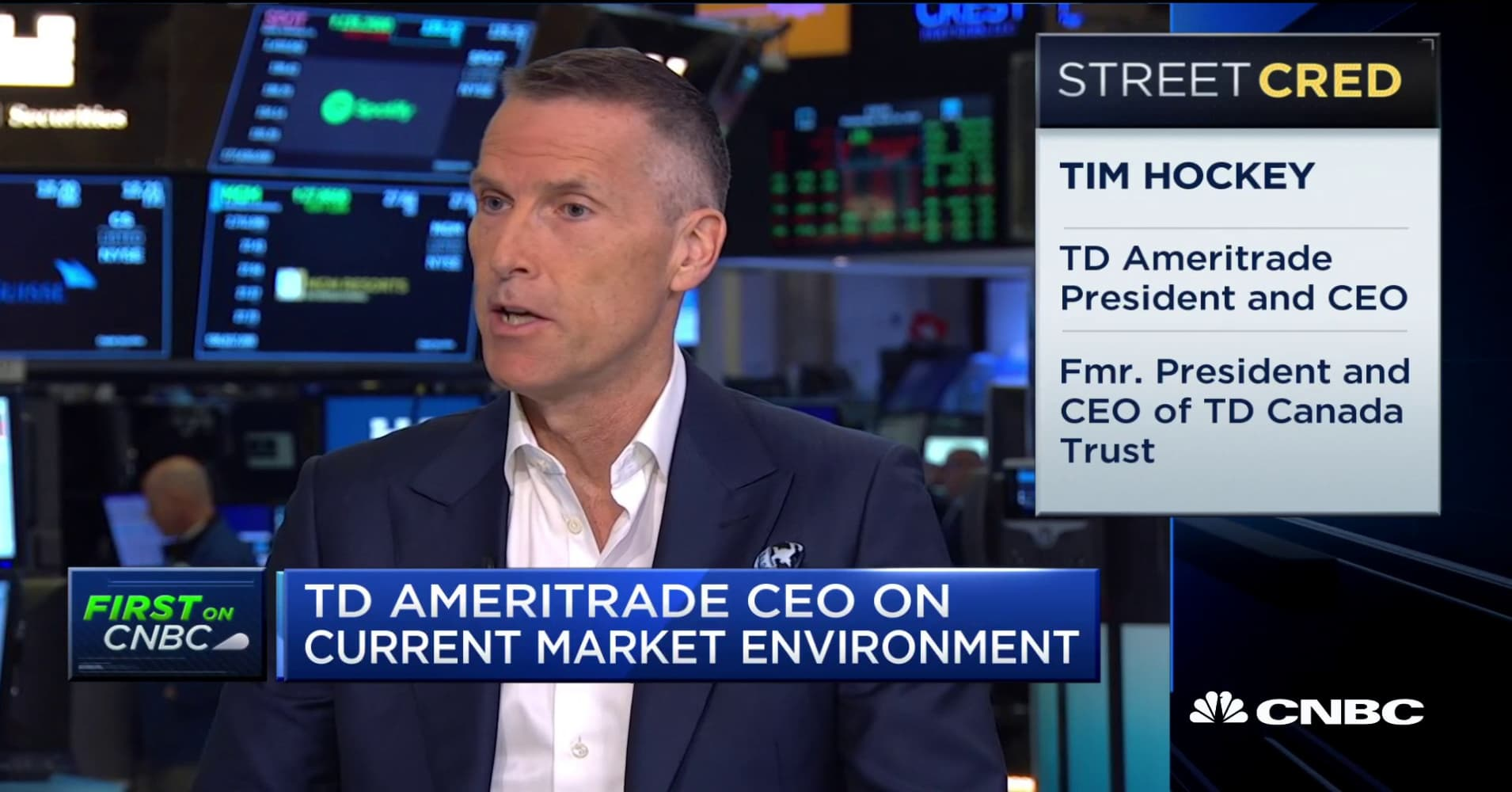 TD Ameritrade CEO Tim Hockey on earnings, market environment