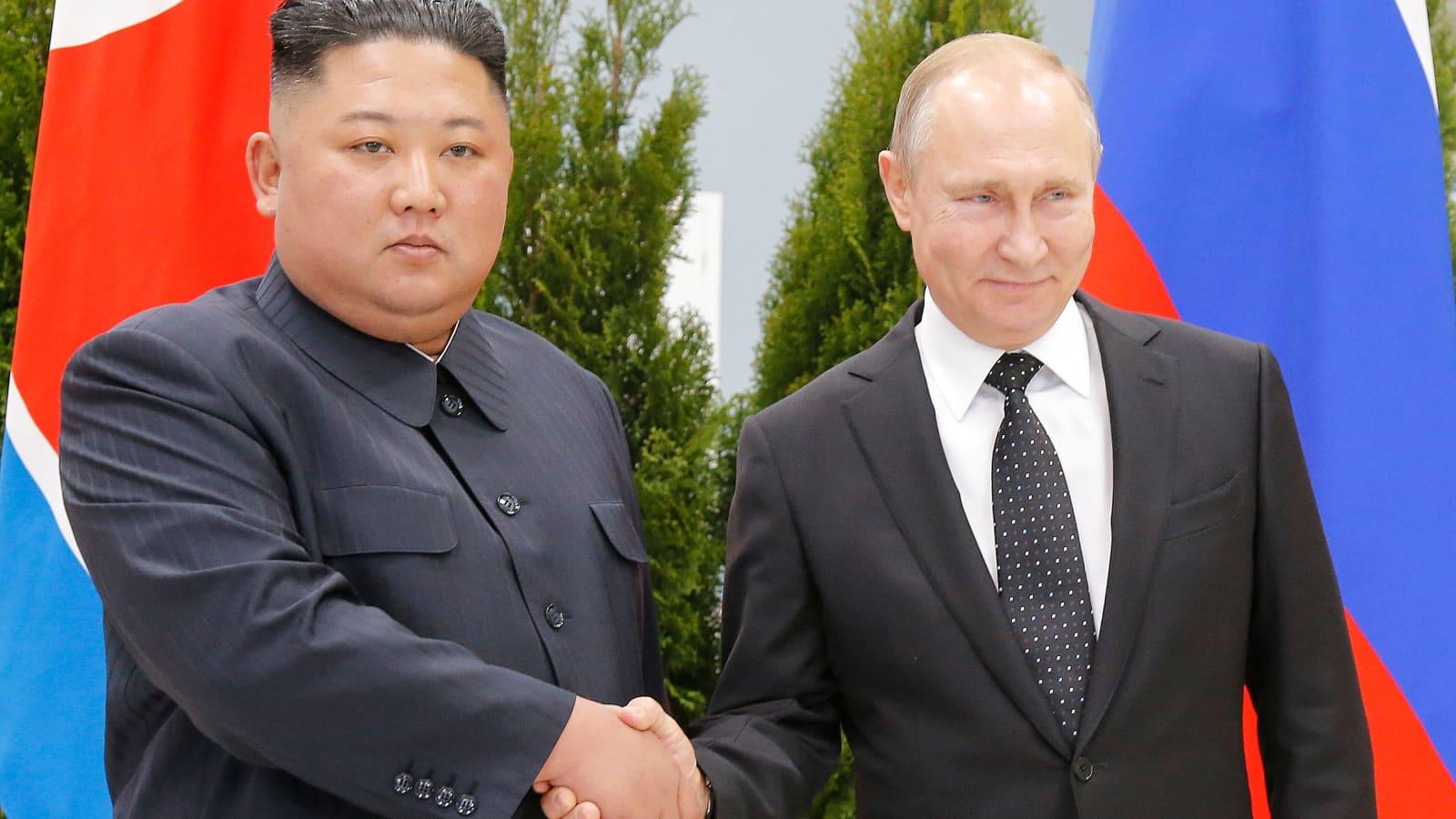 North Korea Kim Jong Un In Vladivostok To Meet Russia S Vladimir Putin