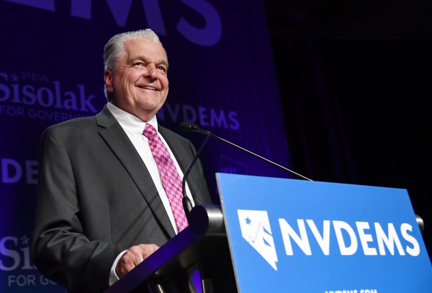 Nevada Gov  Steve Sisolak plans to donate his salary to