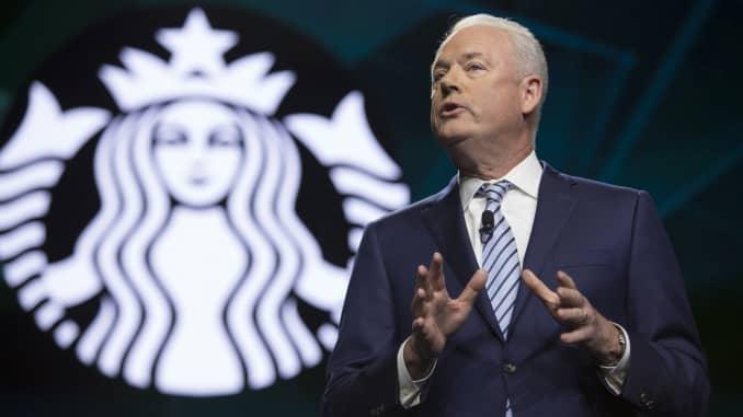 Starbucks earnings beat, raises forecast as customers spend more