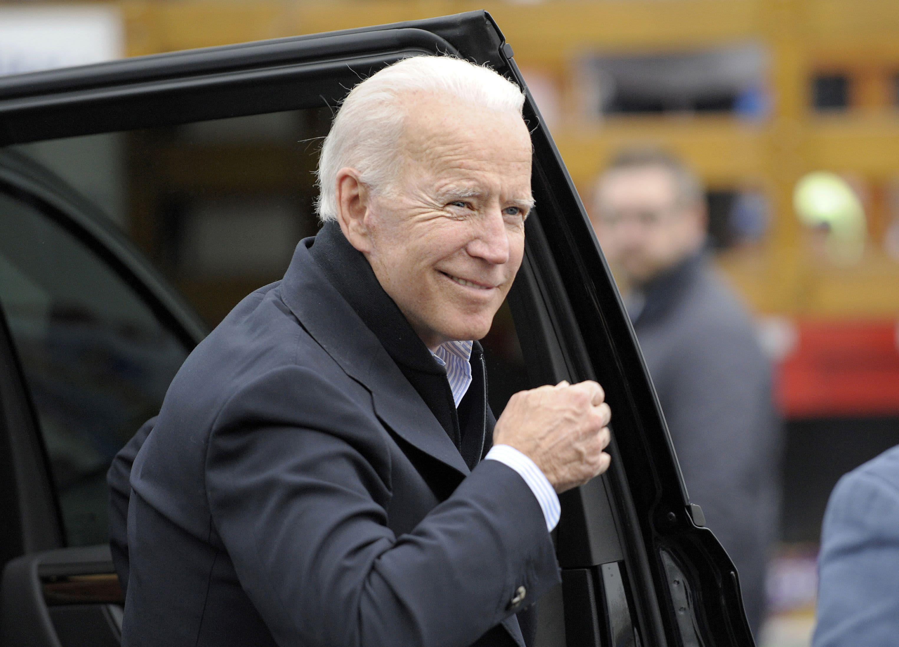 Biden reports $6.3 million 1-day haul, biggest in 2020 field