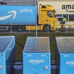 GP: Amazon Prime Trucks Robotics At Amazon.com Inc.'s Latest Fulfillment Center