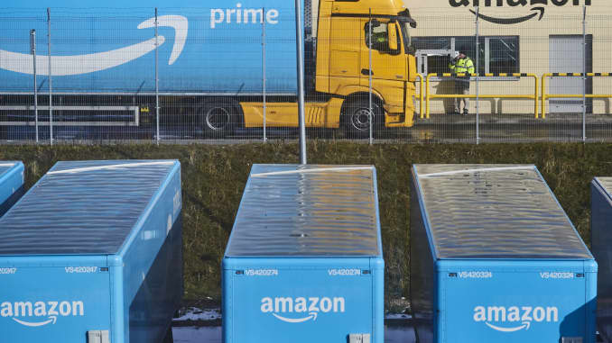 Amazon Freight, 'Uber for trucking' service, running since