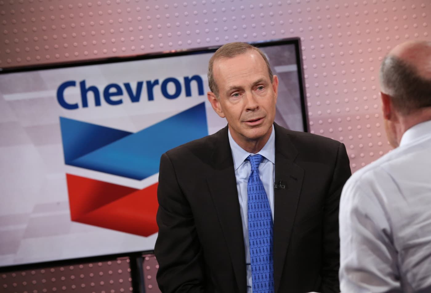 Chevron CEO says the dividend is the company's No. 1 priority and is 'very secure'