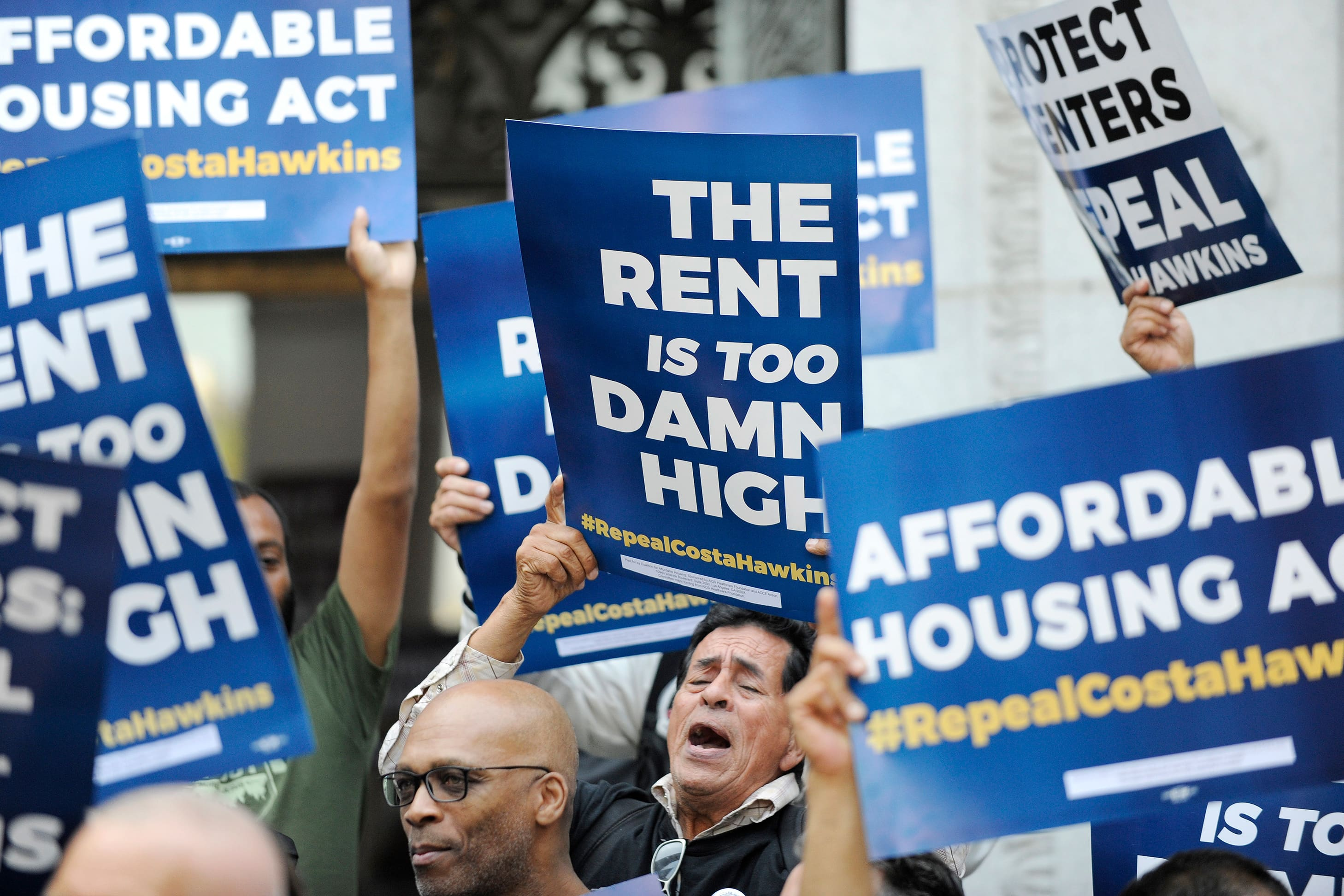 Calif rent control battle resumes as landlords push to defeat plans