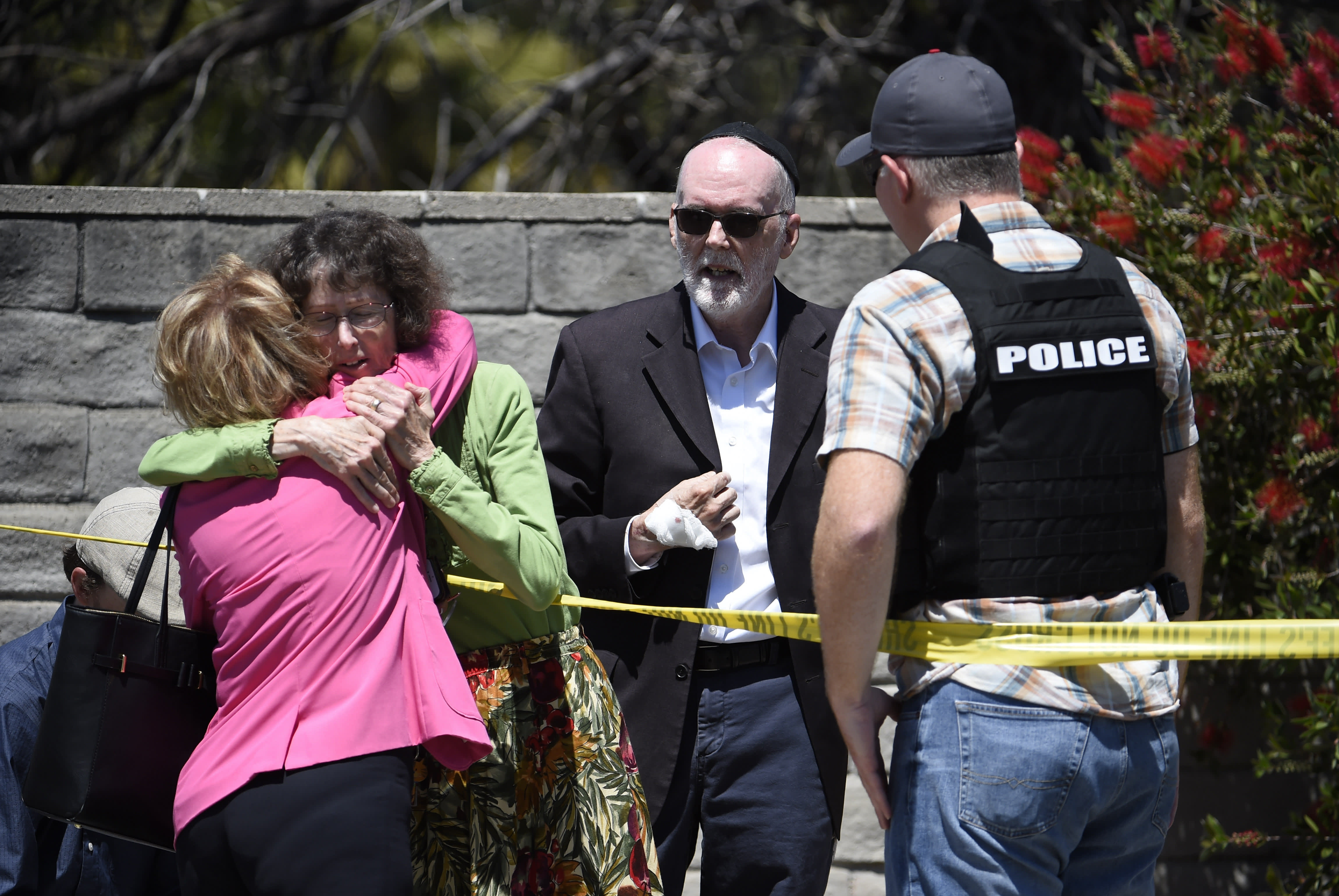 'It was a hate crime': One dead, three injured in synagogue shooting in San Diego area