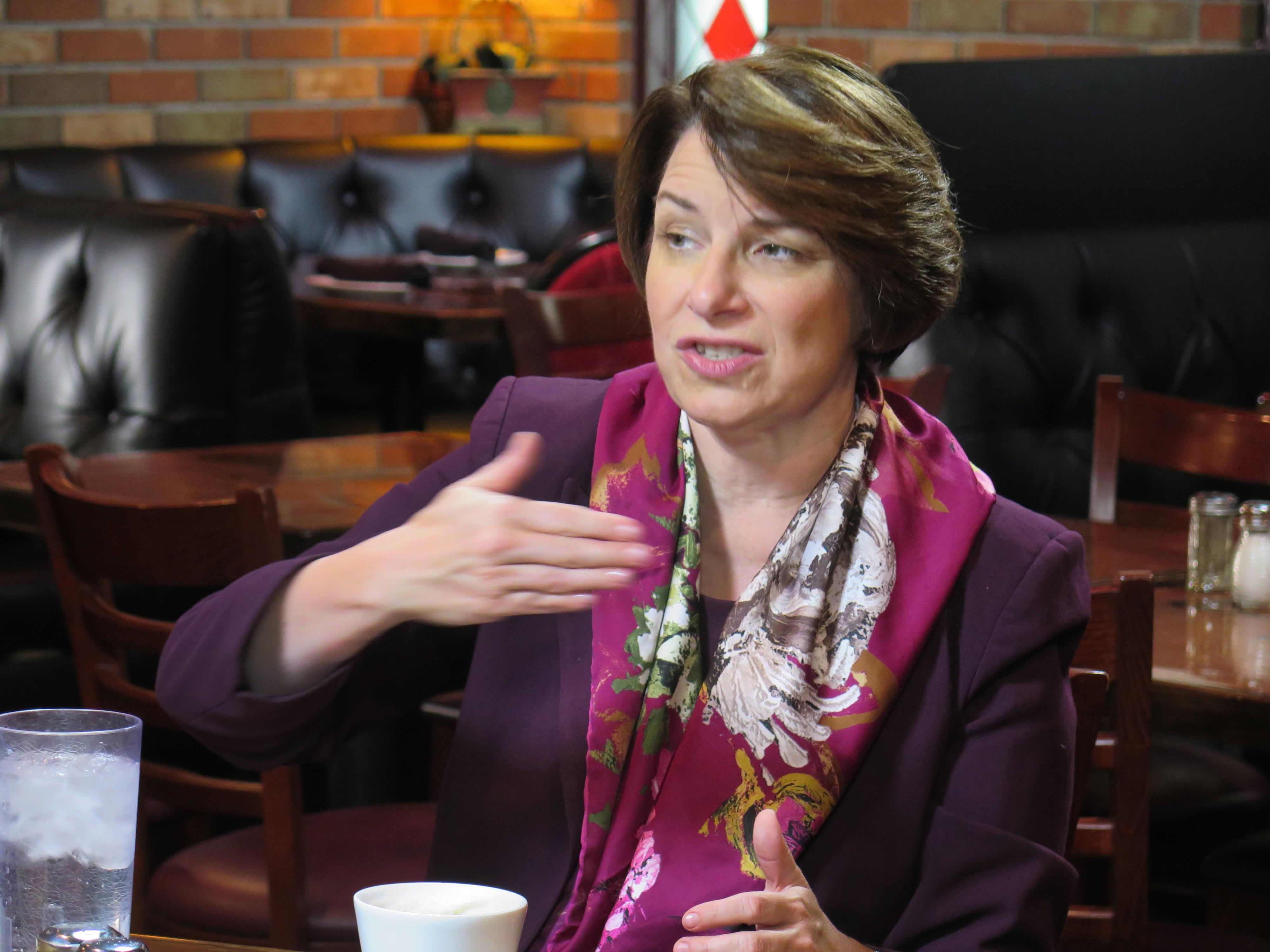 2020 Democrat Amy Klobuchar: The American economy needs 'rebalancing'