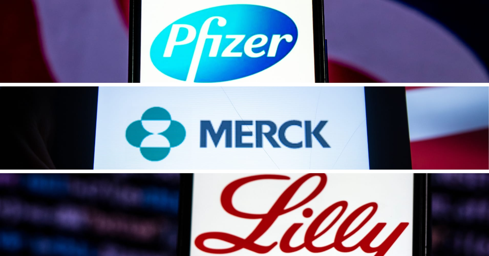 Here's a breakdown of Big Pharma earnings from Merck, Pfizer, Eli Lilly