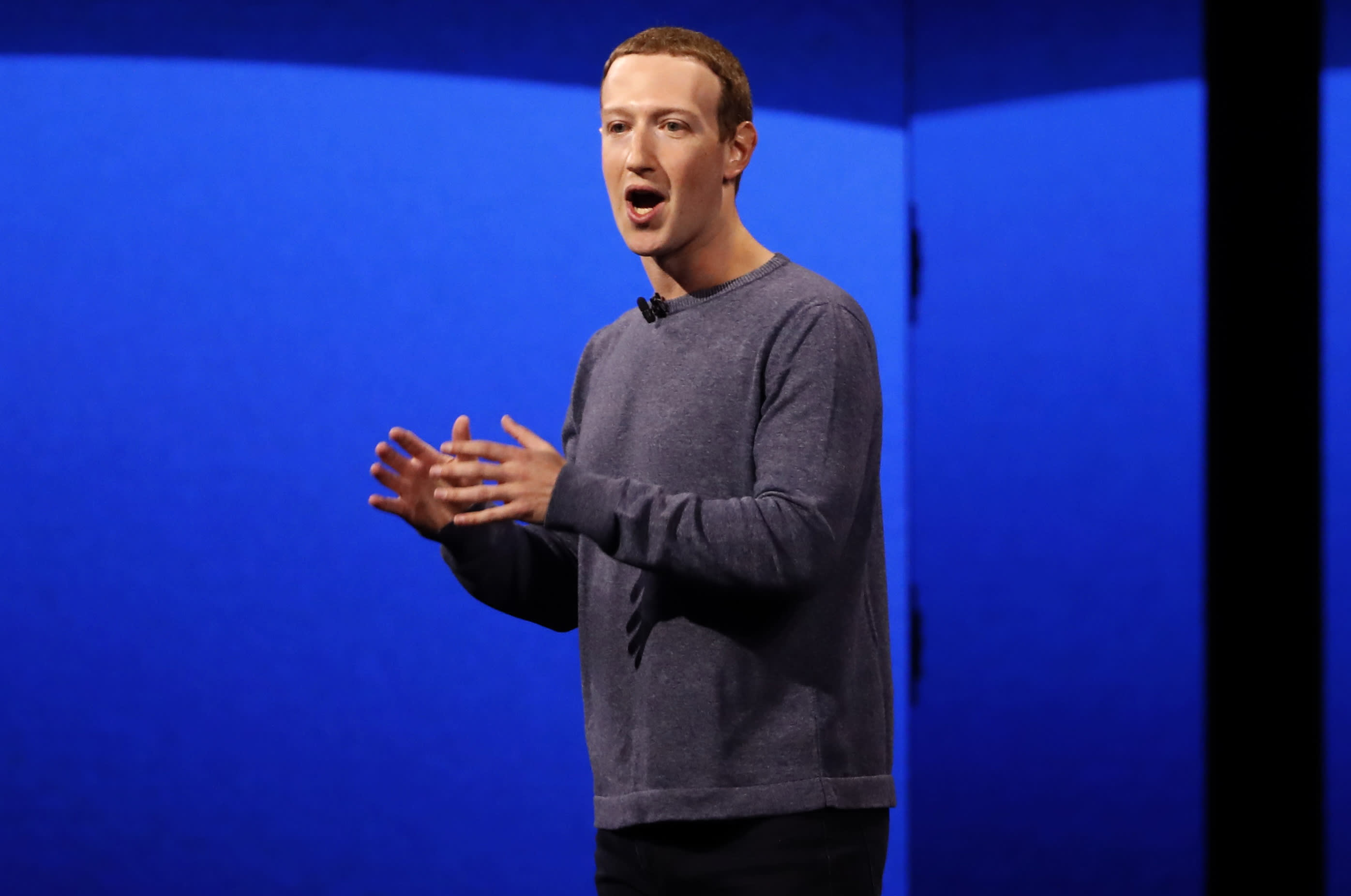 Zuckerberg: Facebook is working on products you'll control with your voice