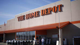 Home Depot sales miss and company cuts outlook on worries tariffs could hit consumer spending