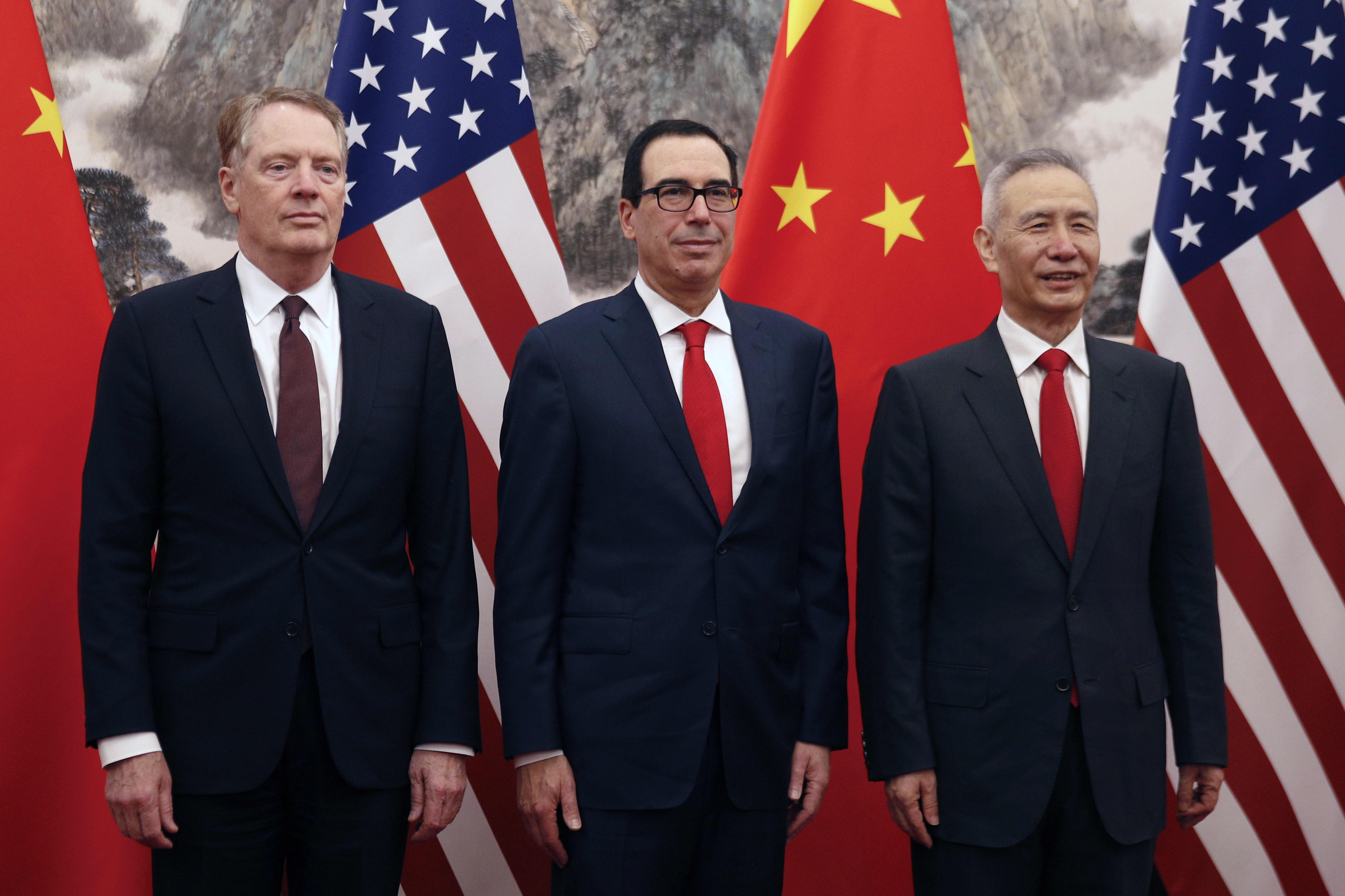 China and US kick off latest trade talks after 'nice' working dinner