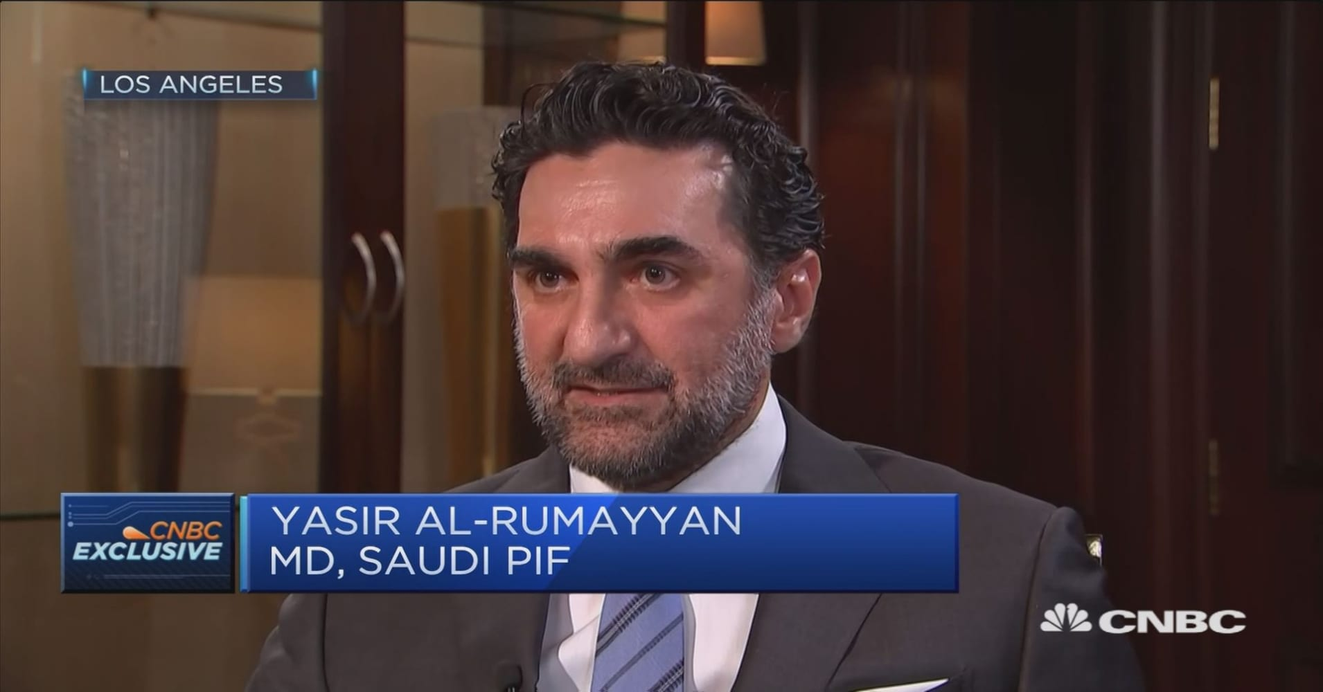 There shouldn't be any concerns with Saudi Arabia's security: Saudi wealth  fund chief