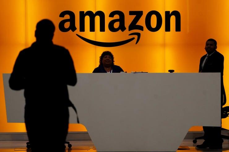 RT: Amazon signage 190501