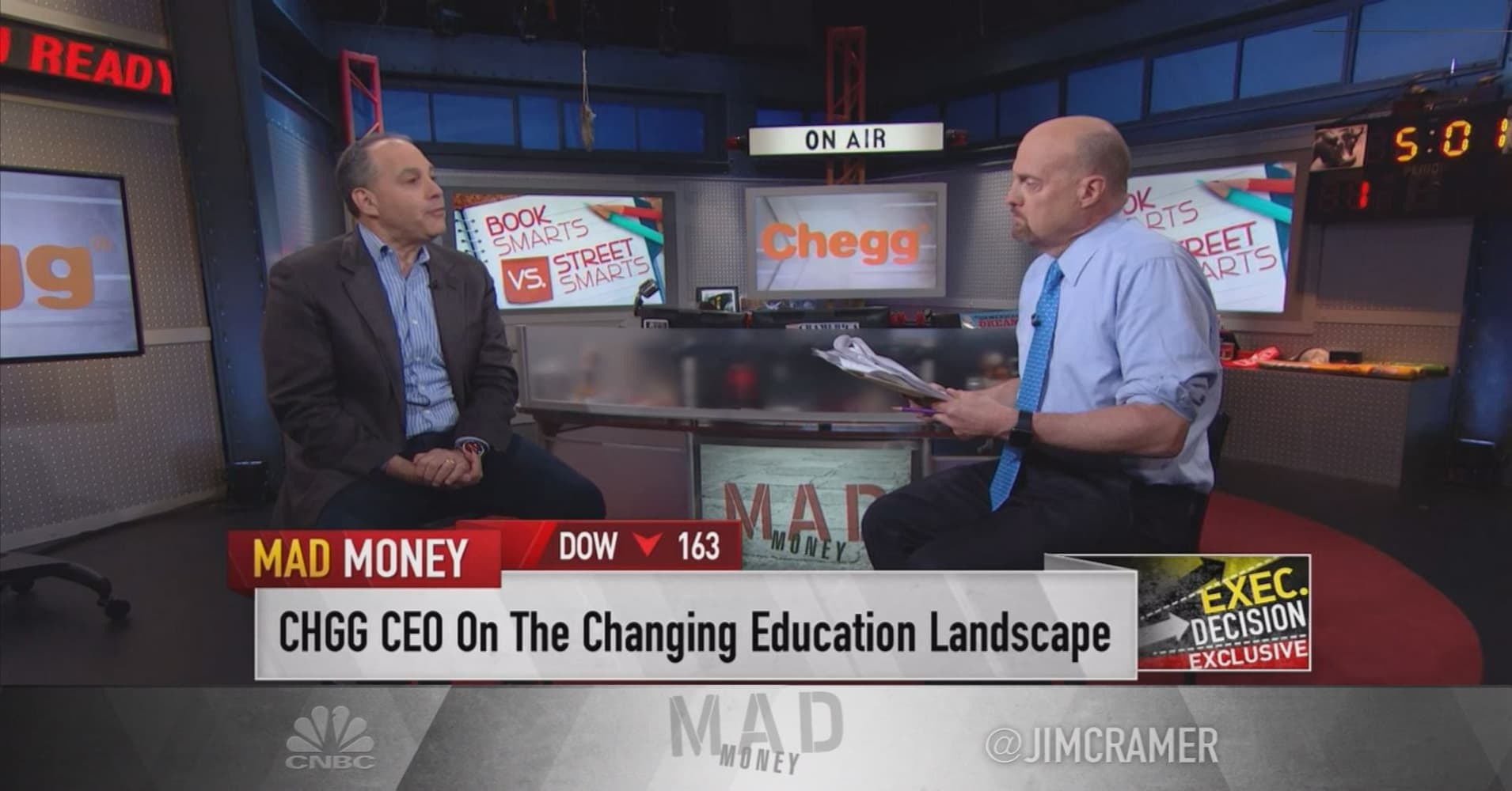 Chegg CEO: We believe the inevitable — People have to keep learning
