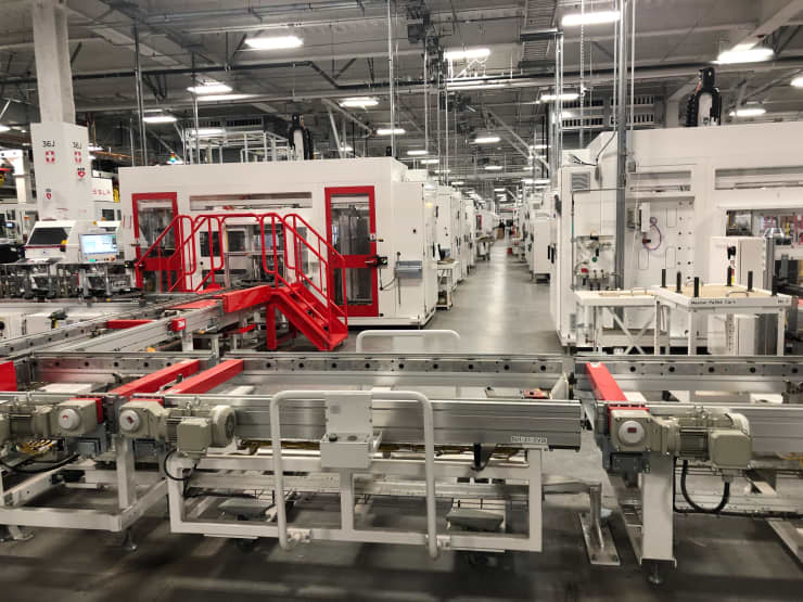 CNBC: Tesla Gigafactory 2019