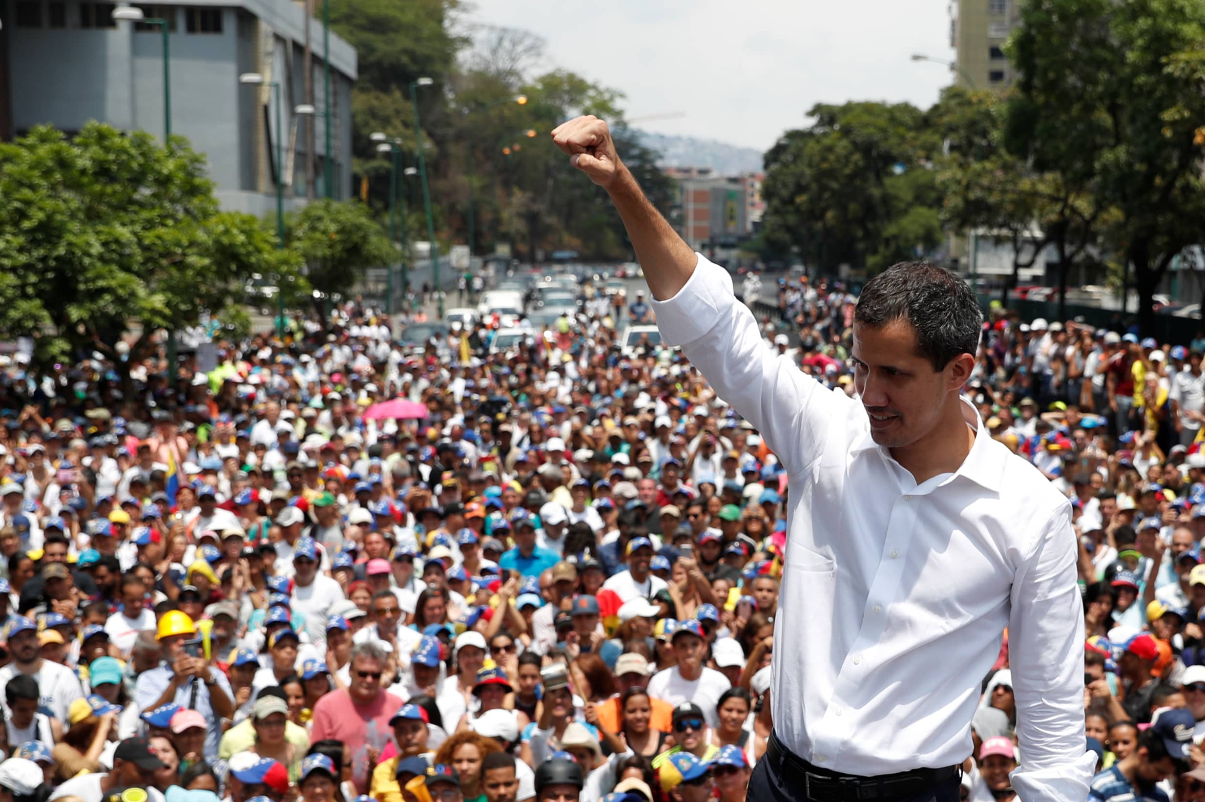 'There's no turning back': Venezuela's Guaido remains defiant after failed attempt to recruit military