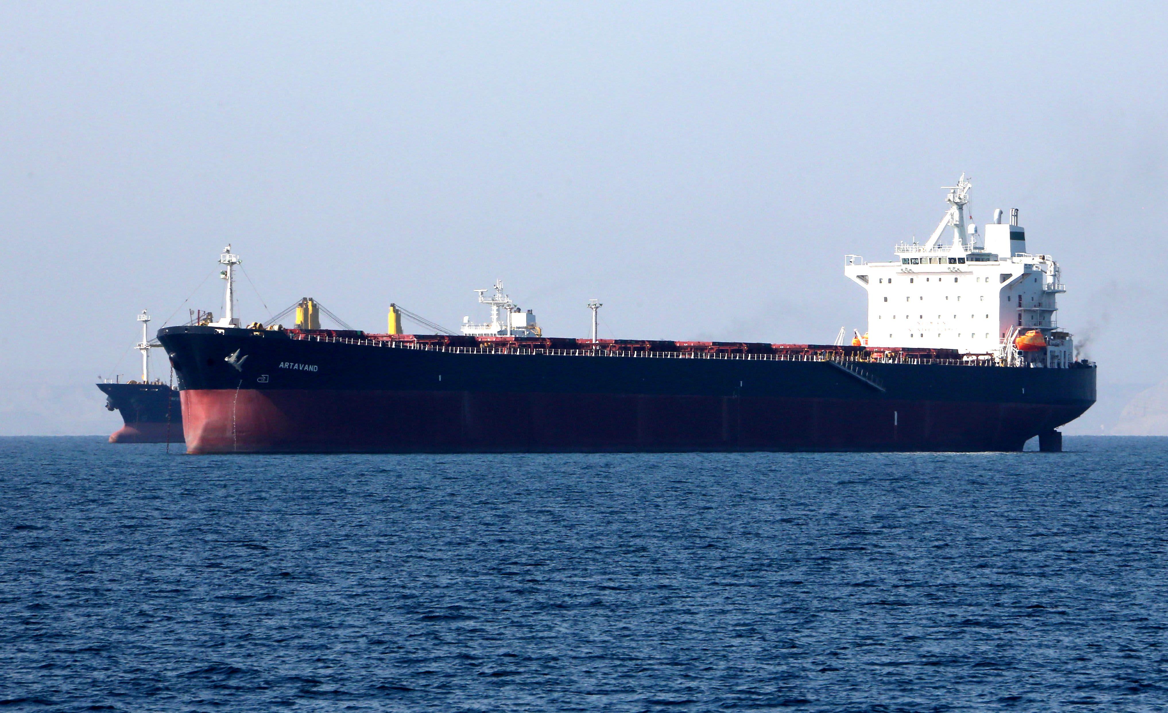 Iran oil tanker breaks down in Red Sea off Saudi coast
