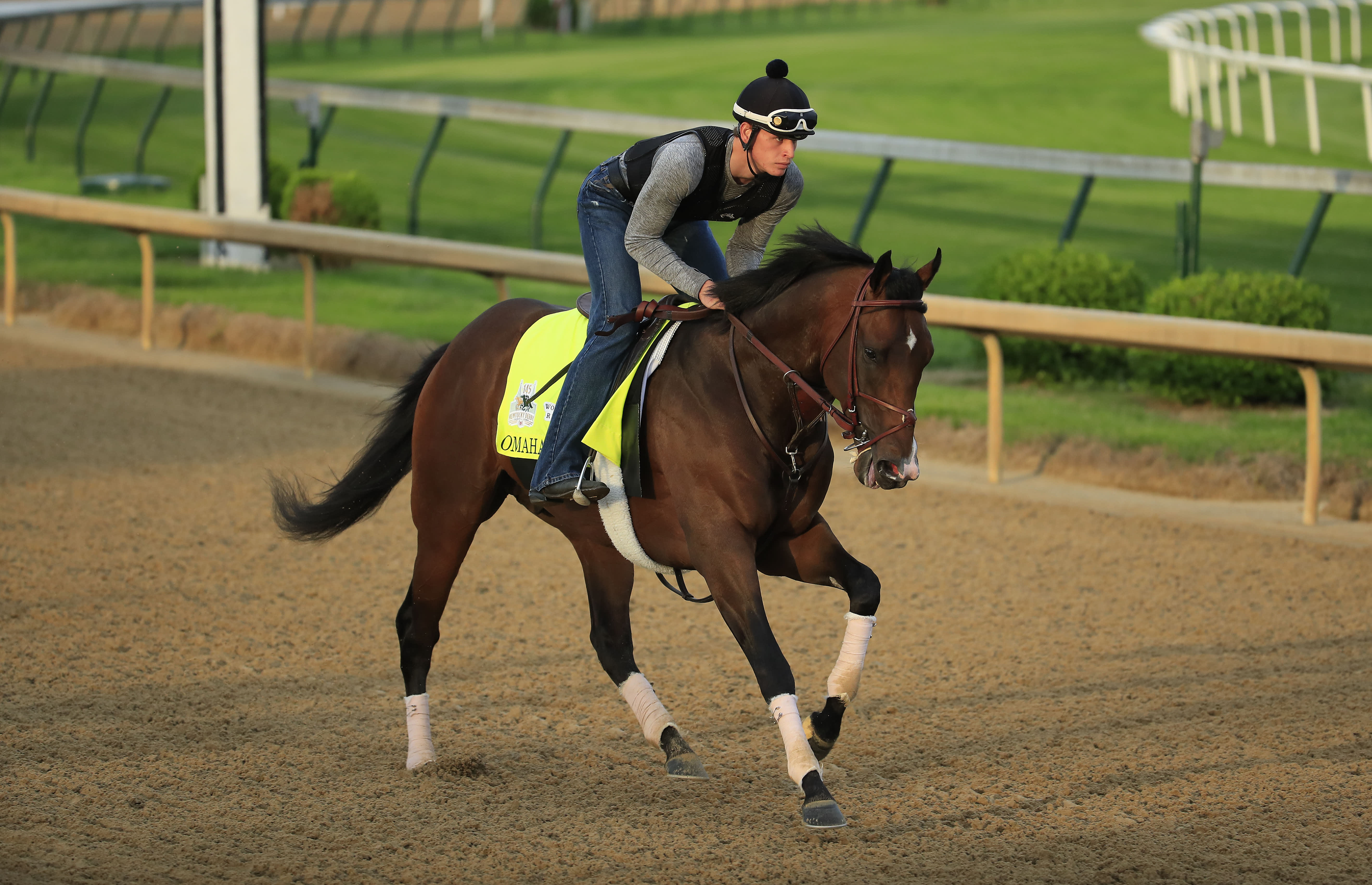 Kentucky Derby favorite Omaha Beach is scratched