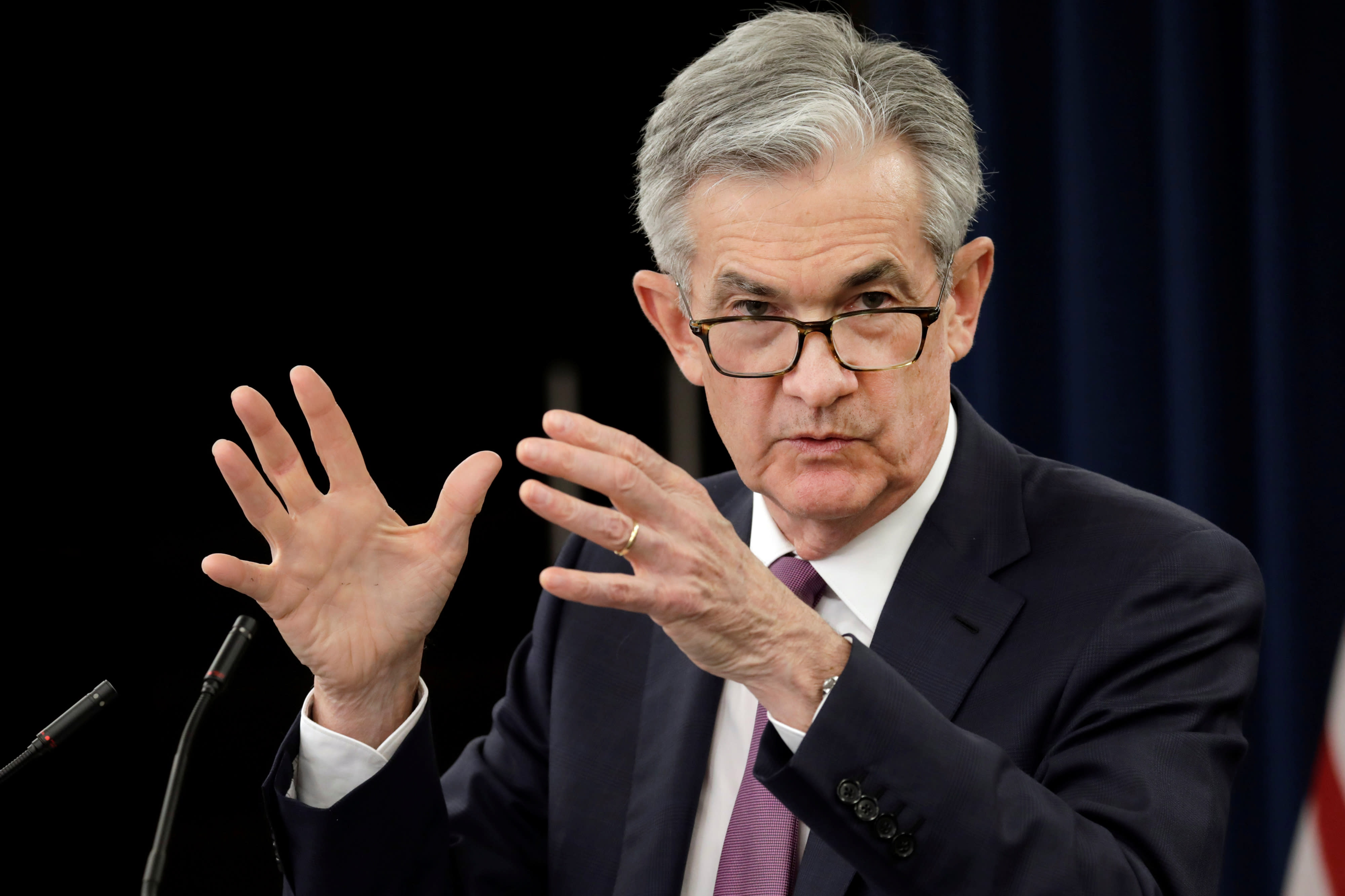 Watch Fed Chair Jerome Powell's news conference live after central bank leaves rates unchanged