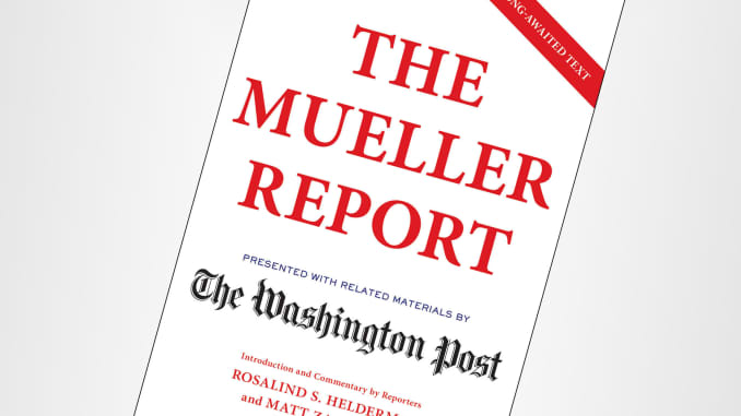 The Mueller Report' is now a best-selling book
