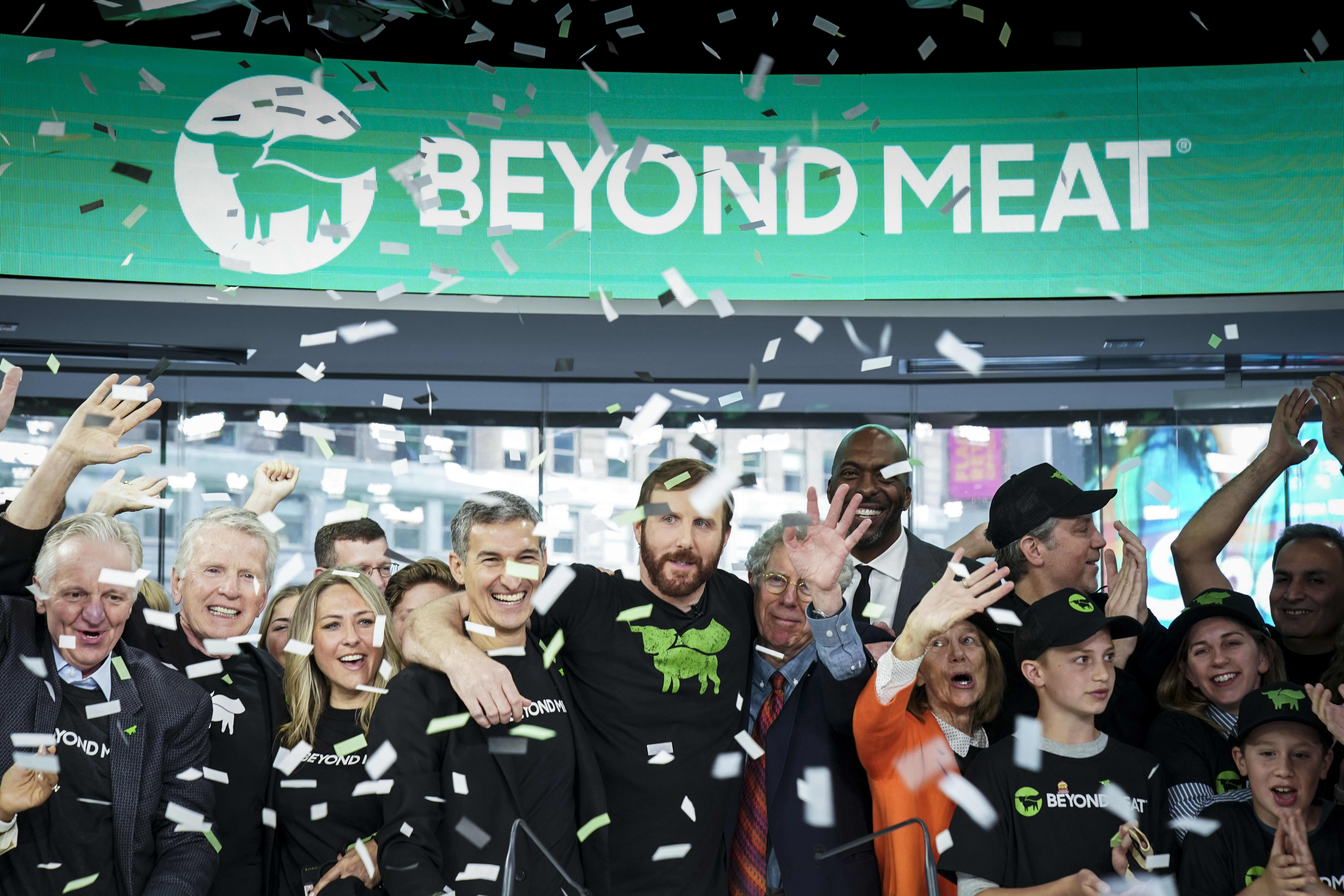 Beyond Meat is rocking despite negative analyst moves this week, surging 17%