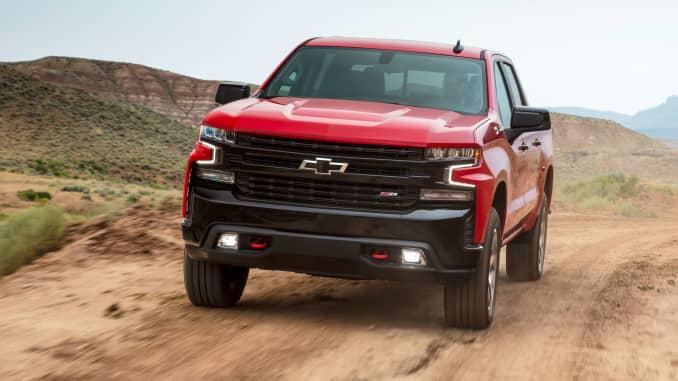 Chevrolet Silverado LT Trail Boss 2019