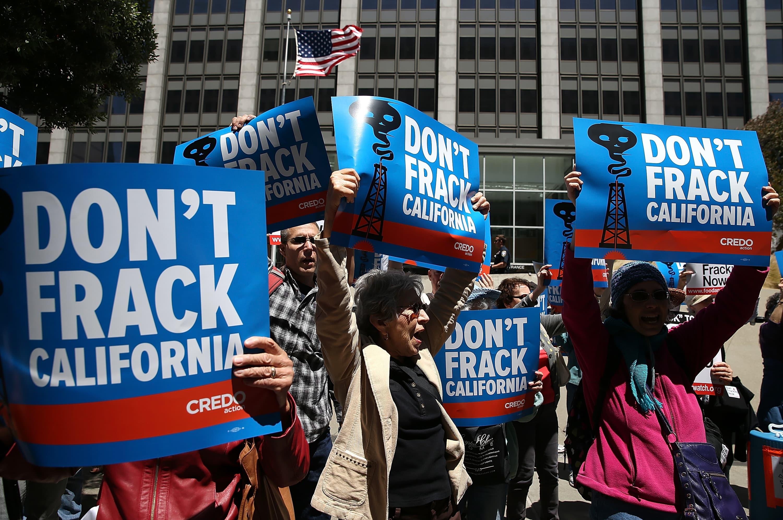 Trump administration's California fracking plan is 'dangerous,' environmental groups say