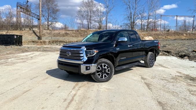 Review: The 2019 Toyota Tundra pickup fails to impress