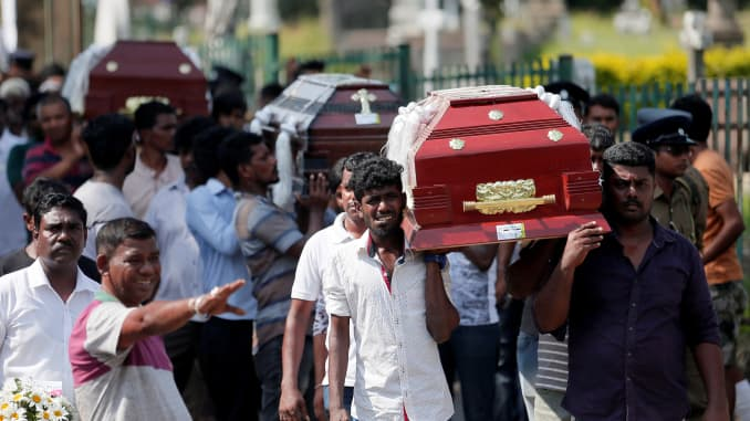Global terrorism entered a new era with the bombing in Sri Lanka