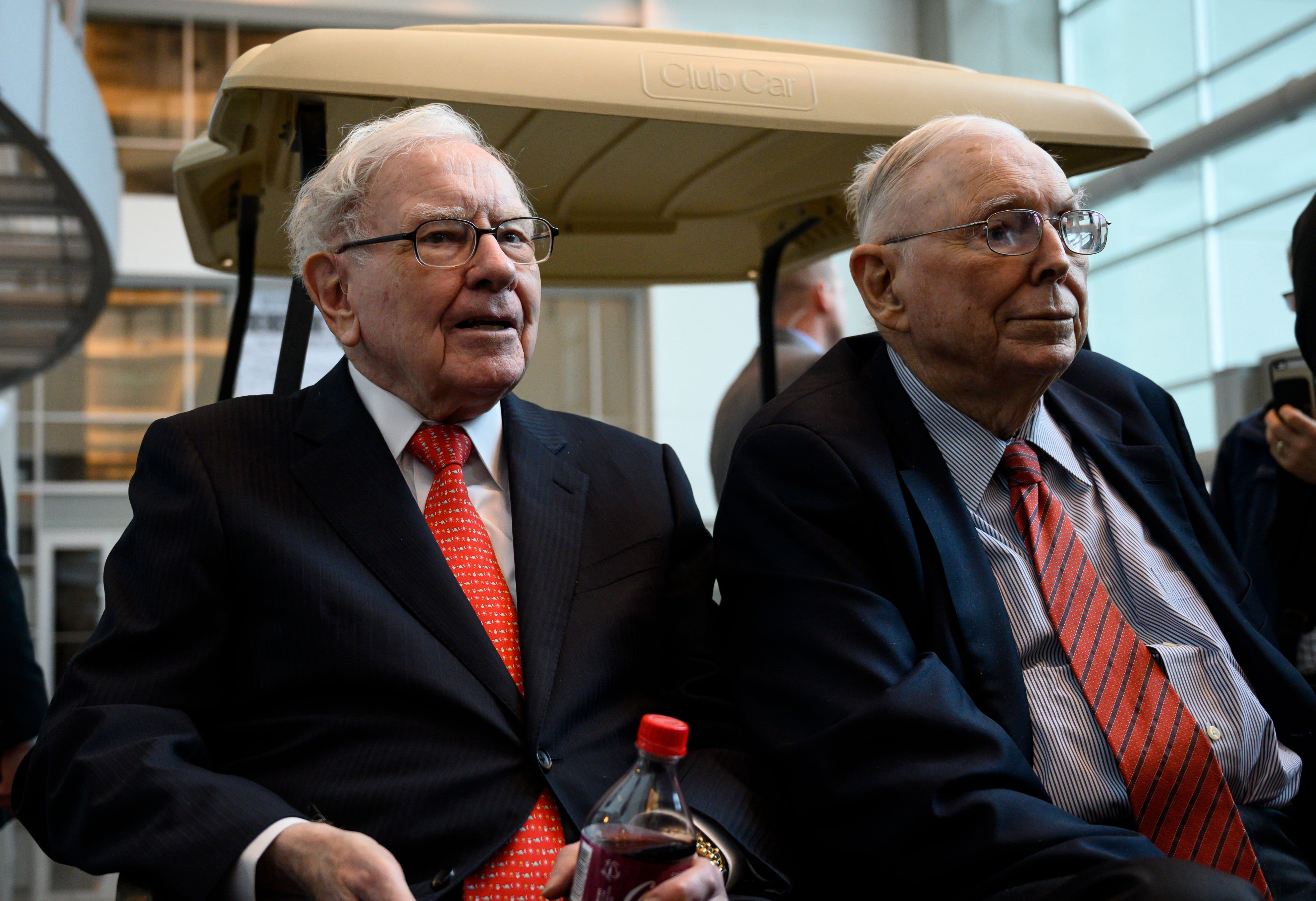 Warren Buffett says Berkshire's purchase of high-flying Amazon was still 'value investing'