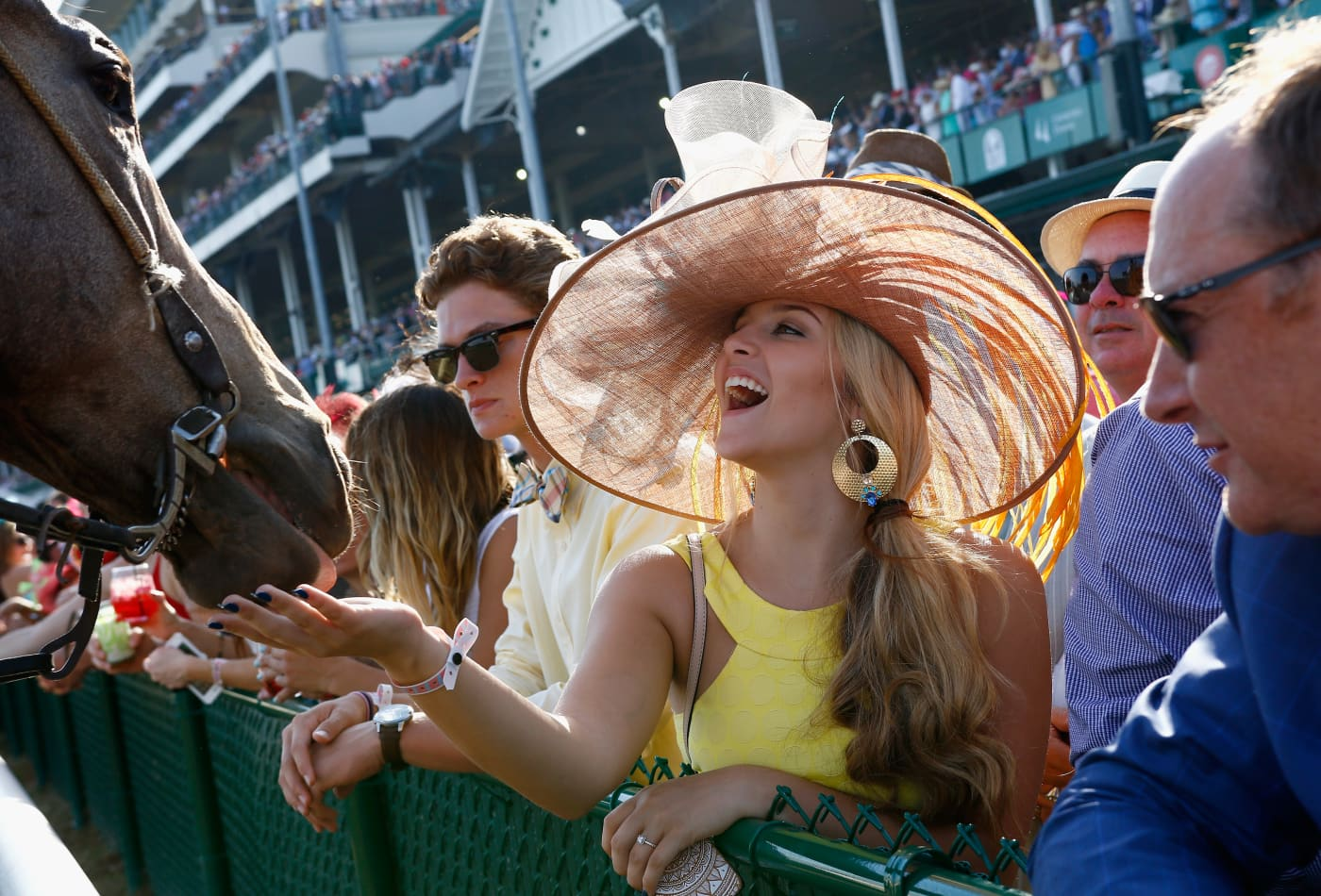 b2a0c91377408 How the super rich experience the Kentucky Derby